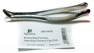 Revere® Dental Extracting Forceps #151S (Pedo)