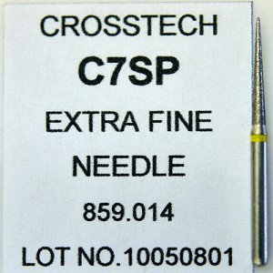Cross Tech® Diamond Burs, C7SP, Needle, extra fine, 5/pack