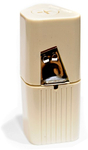 Plasdent® Dental Floss Dispenser, beige