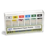Meta® Absorbent Paper Points, .04 special taper, #15-40, 60/pack