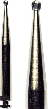 Cross Tech® Round Carbide Burs, RA 2, 10/pack