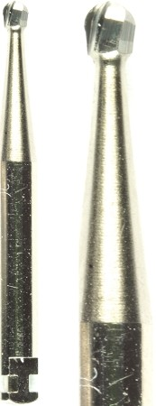 Cross Tech® Round Carbide Burs, RA 4, 10/pack