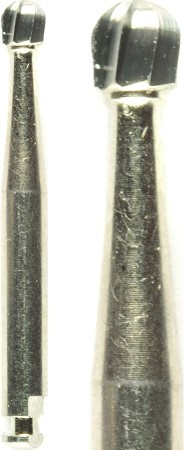 Cross Tech® Round Carbide Burs, RA 8, 10/pack