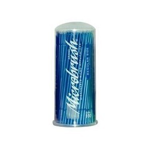 Microbrush® Disposable Micro Applicators, Regular (2.0mm), blue, 100/pack