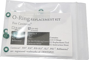 Cavitron® O-Ring Replacement Kit, green, 12/bag