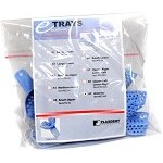 Plasdent® Excellent-II Disposable Impression Trays, #10 anterior/upper, light blue, 12/bag
