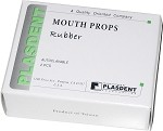 Plasdent® Mouth Props, Rubber, Adult, gray, 2/box