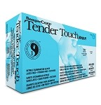 Tender Touch® by Sempermed® Nitrile Powder Free Blue Examination Gloves, small, 200/box