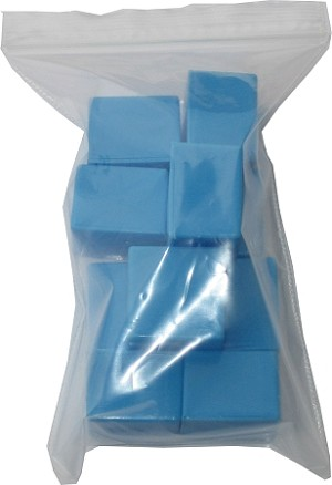 "Plasdent® 1"" Tooth Box, blue, 10/pack"