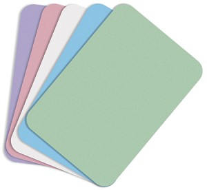 "Mark3® Disposable Paper Tray Covers, B size, 8 1/2"" x 12 1/4"", blue ritter, 1000/box"